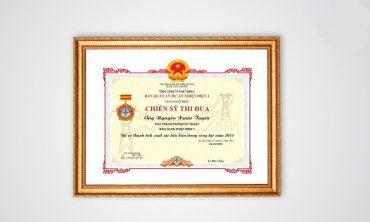 In giấy khen, bằng khen, giấy chứng nhận tại Hà Nội